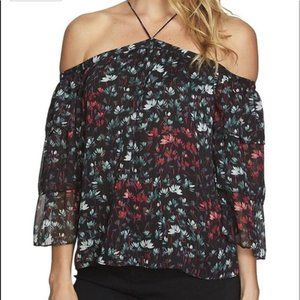 🍓1. STATE The Curator Blouse Floral Print XSmall